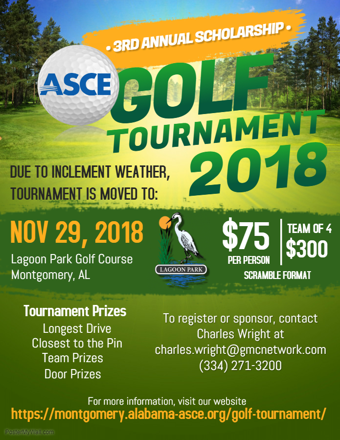 Golf Tournament – Montgomery Branch of ASCE